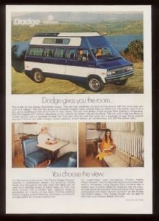 1970 dodge sportsman camper van 3 photo ad time left