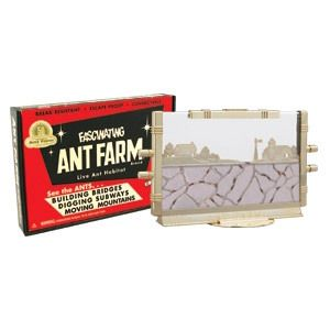 Uncle Miltons Fascinating Ant Farm Live Ant Habitat Classic Retro Toy