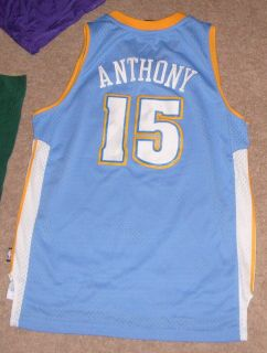 Carmelo Anthony Denver Nuggets Jersey Shirt Sewn Youth Large 14 16