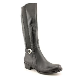 Naturalizer Arness Womens Size 8.5 Black Leather Fashion   Knee High