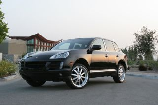 Executive Hypersilver wheels rims Porsche Cayenne Audi Q7 VW Touareg