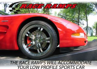 56 Sports Car Service Race Ramps Mustang Auto Stands
