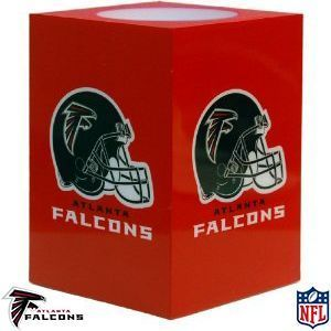 NEW Atlanta Falcons Square Flameless Candle NFL Officially Licensed
