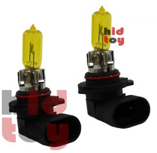 9005 HB3 Yellow Xenon Gas Halogen Headlight #ae5 High Beam Light Aue59