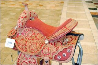 barrel racing trail pleasure saddle 15 product id hsza110 15