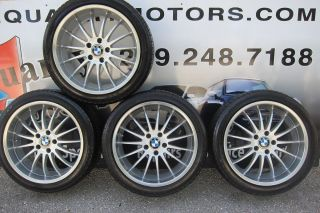 BMW 19 Breyton Alloy Wheel Rim Set RSA Tire E63 E64 645CI 650CI E38