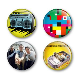 Beastie Boys Badges Buttons Pins Tickets Shirts Albums Vinyl