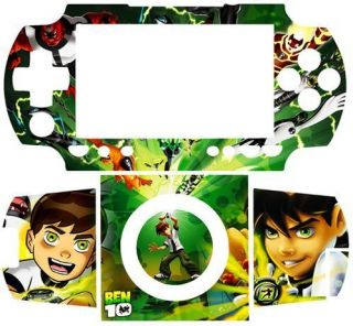 Sony PSP 1000 Fat Skin Sticker Decal Cover Ben 10 Ten
