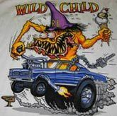 Big Daddy Ed Roth Hot Rod Tee Wild Child Muscle Car
