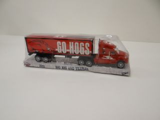 NCAA Arkansas Razorbacks Big Rig Toy Truck Officially Licensed NCAA