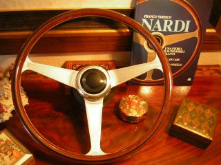Bentley Turbo   Continental   Corniche Nardi Wood Steering Wheel NEW