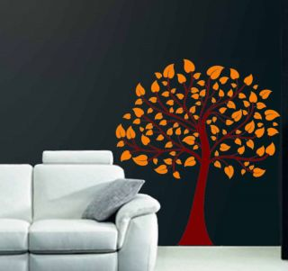 Big Spring Tree Branch Decor Mural Wall Art Vinyl Decal