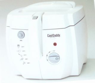 Presto Cooldaddy Cool Touch Deep Fryer New 05443