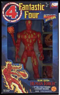 Fantastic Four 10 Action Figure Marvel Deluxe Edition 1994 Toy Biz