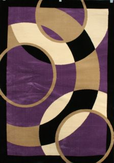 Red Black Brown White Purple Orange Multi Colored Area Rug Carpet