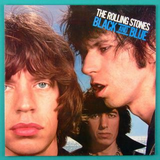 LP The Rolling Stones Black and Blue Rock Folk Beat USA
