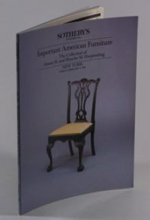 Early American Antique Colonial Federal Furniture Harpending