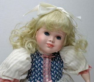 Bo Peep Paradise Galleries Treasury Bisque Porcelain Doll 1992