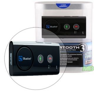 BlueAnt SUPERTOOTH 3 III Bluetooth DSP CAR Speaker KIT w Vehicle