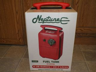 in Box Neptune 6 Gallon Boat Fuel Tank Fishing Boating Supplies