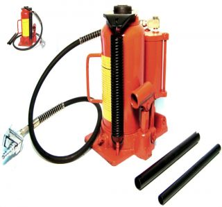 40 000lb Air and Hydraulic Bottle Jack 20 Ton Heavy Duty Truck Repair