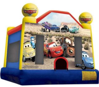 Cars Inflatable Kids Bounce House Jumper Bouncer 14 4 x 13 4