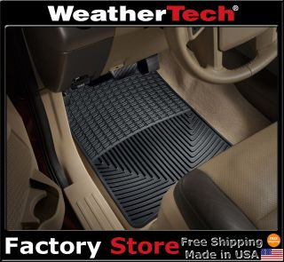 WeatherTech All Weather Floor Mats 2003 2011 Ford Expedition Black