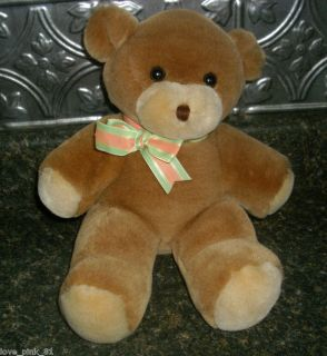 Vintage Heartline Hallmark 88 Teddy Bear Stuffed Plush