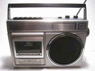 RX 1280 Portable Boombox AM FM Radio Cassette Player WORKS EUC