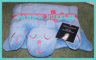 Cute Pink Blue Puppy Dog Pet Cat Bed or Crate Mat