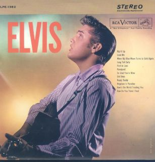 Elvis Presley Elvis 2nd Self Titled Album LP Canada RCA LPE 1382 Tan