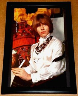 Brian Jones Rolling Stones Framed 60s Portrait Tribute