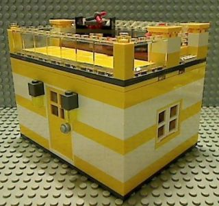 Lego Lake House City Beach River BBQ Lounge Chair Deck
