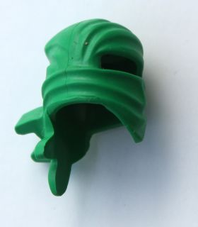 LEGO Ninjago GREEN NINJA WRAP *ORIGINAL* Headgear Head Spinjitzu Part