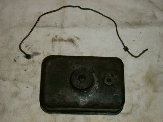 Briggs Model Y Fuel Gas Tank and Line
