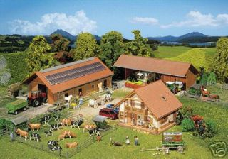 HO Scale Horse Barn Breeding Farm Building Set Kit