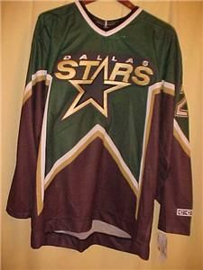 Brett Hull Dallas Stars CCM Autographed Signed Autograph Jersey with