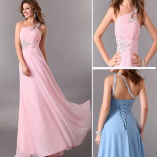 Wedding Party Gown Prom Ball Evening Cocktail Bridal Dress UK 6 8 10