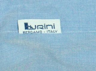 BRIONI Mens Light Blue Cotton French Cuff Dress Shirt 16 5 34 L Large