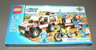 LEGO City Building Set 4433 Dirt Bike Transporter Truck & Trailer NEW
