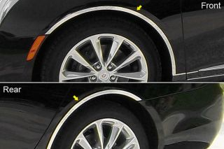 2013 Cadillac XTS Fender Trim (Wheel Well) Polished Car Chrome Trim 4