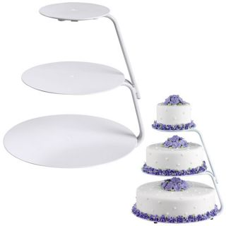 Wilton Cake Decorating Floating Tiers Cake Stand
