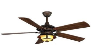 Monte Carlo Burnet 52 Bronze Outdoor Fan 5BR52RBD