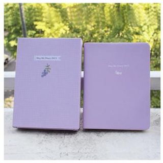 Diary Daily planner for 2013 year Violet 2013 Calendar 3 Stickers