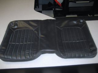 00 2002 Chevy Camaro GM Ebony Leather Seat Cover