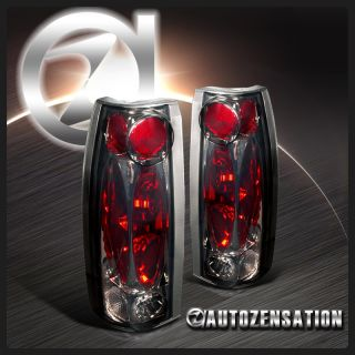 88 98 Chevy GMC C10 C K Silverado Sierra Smoke altezza Tail Lights