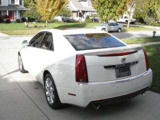 Cadillac cts 4 Door Sedan Factory Style Painted Spoiler Wing Trim 2008
