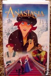 Anastasia Animated VHS Video $4 25 Ships Unlimited 086162276439