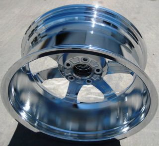 NEW 18 FACTORY GM CADILLAC XLR SRX OEM CHROME WHEELS RIMS   SET OF