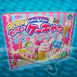 Japan Kracie Popin Cookin MINI candy CAKE SHOP KIT Japanese ice cream